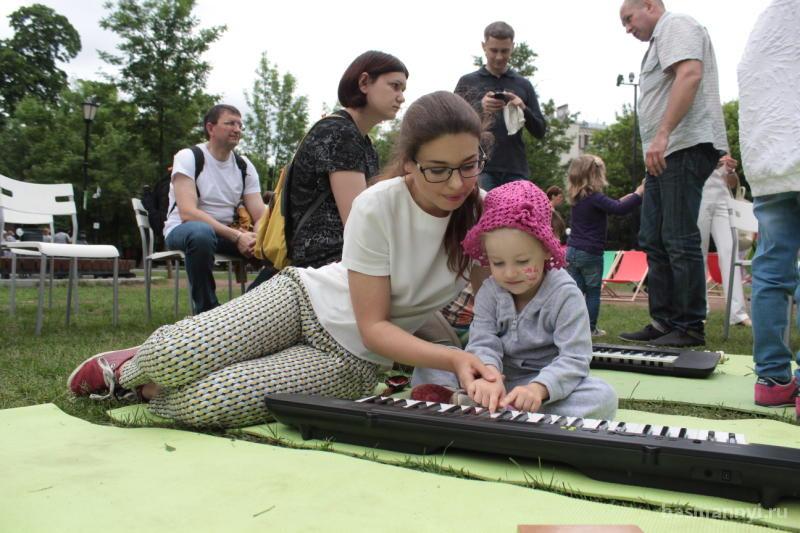 Фестиваль «Летние дни» пройдет в Саду имени Баумана
