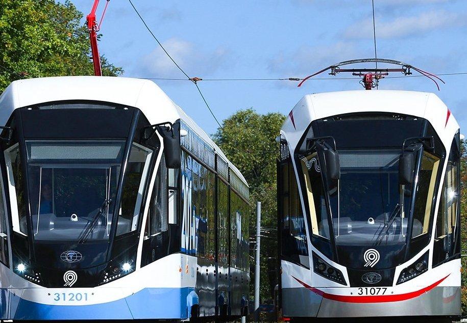 Трамвайный парк столицы планируют полностью обновить к 2024 году