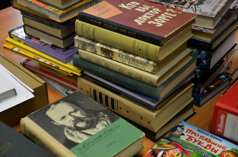 Около 500 книг поступило в районную библиотеку