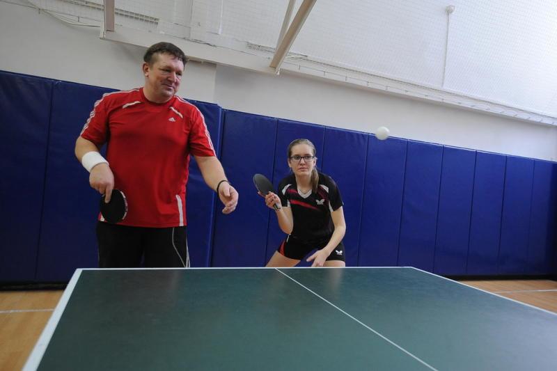 Мастер-класс по настольному теннису организуют в филиале «Янтарь»