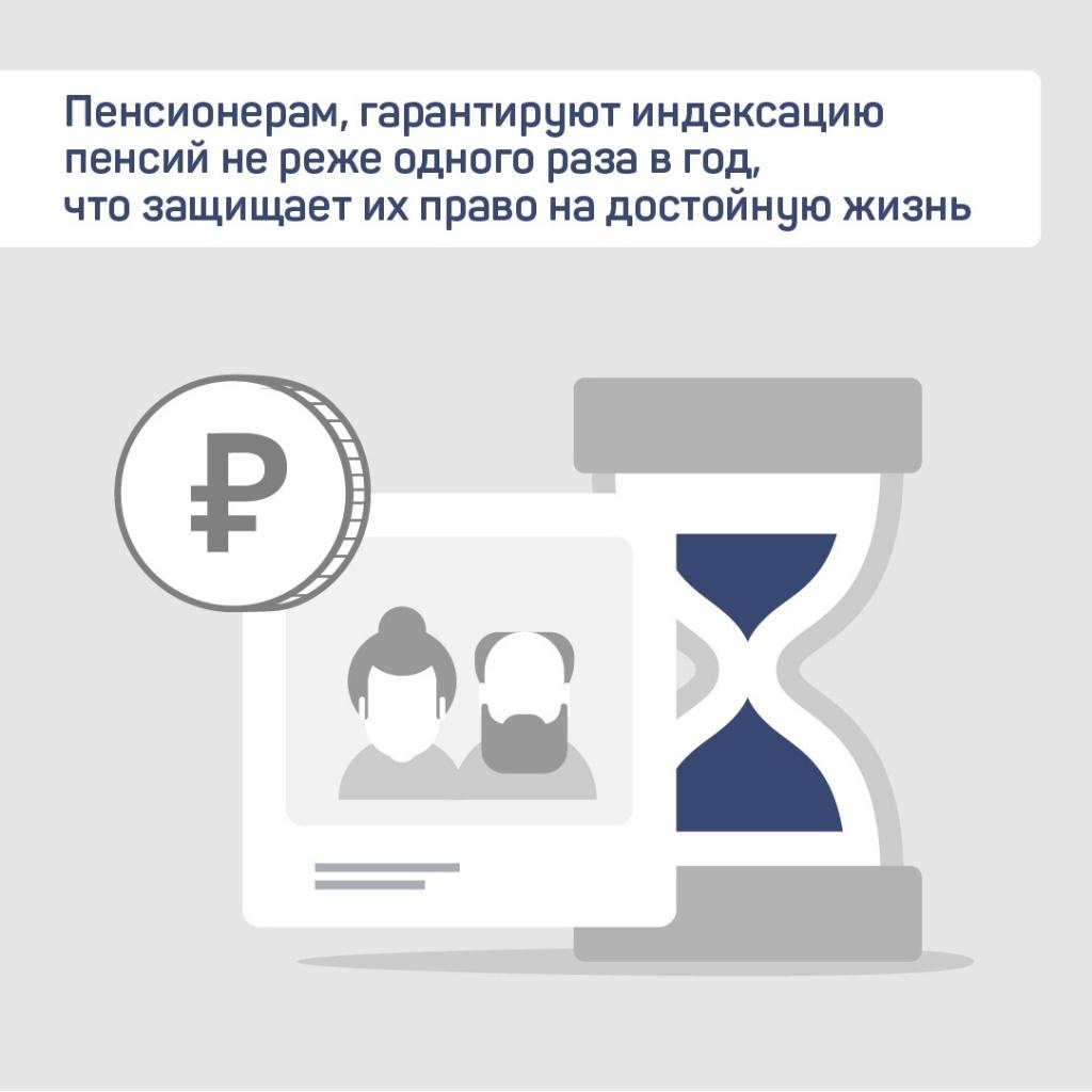 Ежегодную индексацию пенсий предложили обозначить в Конституции России