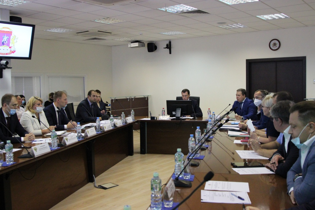 Префект Центрального округа Владимир Говердовский провел межведомственное совещание